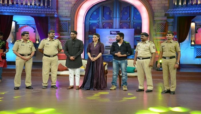 'चला हवा येऊ द्या'च्या मंचावर काजोल आणि अजय देवगण