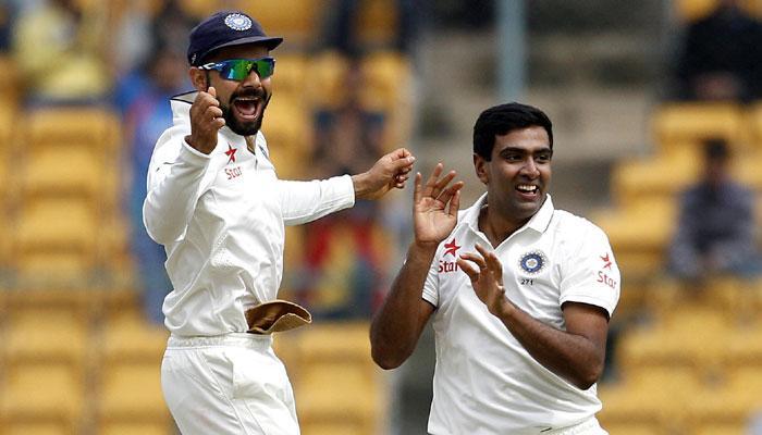 भारत, अश्विन कसोटी क्रिकेटमध्ये नंबर एकवर कायम