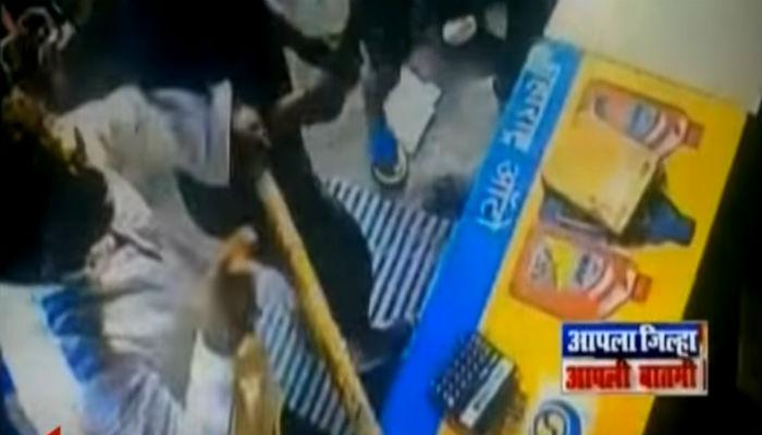 उल्हासनगरमध्ये शिवसेना कार्यकर्त्यांची दुकानदाराला मारहाण