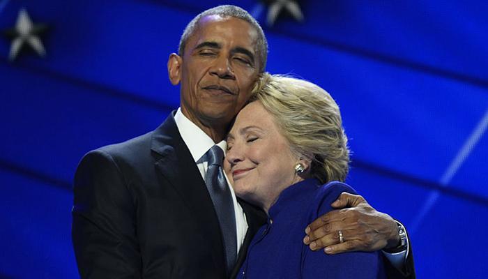 हिलरींनी मला उत्तम राष्ट्रपती बनवलं : ओबामा