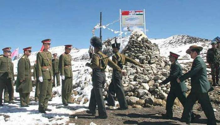 लद्दाखमध्ये चीन सैनिकांना भारतीय सैनिकांनी मारून हाकलेले
