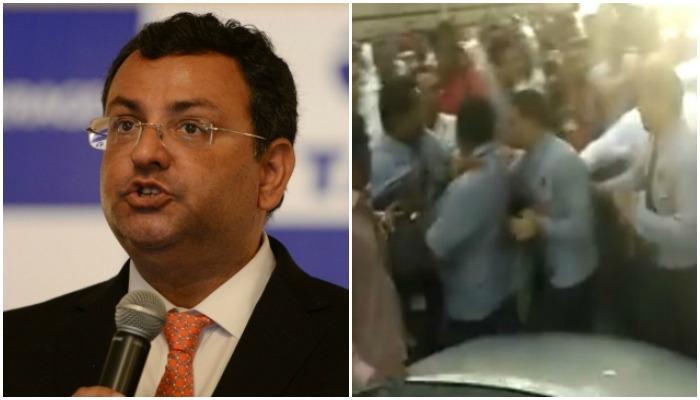 बॉम्बे हाऊसच्या सुरक्षा रक्षकांकडून माध्यम प्रतिनिधींना धक्काबुक्की