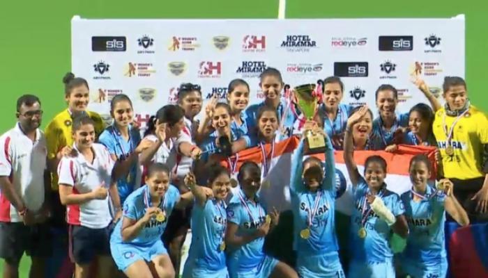 महिलांची 'चक दे' कामगिरी, आशियाई हॉकी चॅम्पियन्स ट्रॉफी भारताची