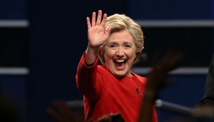 हिलरी क्लिंटन अमेरिकेच्या पहिल्या महिला राष्ट्राध्यक्ष होणार?