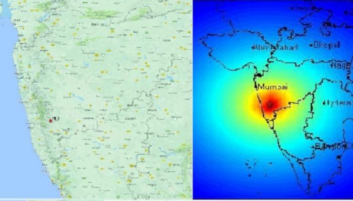 कोकण, साताऱ्यात भूकंपाचे सौम्य धक्के