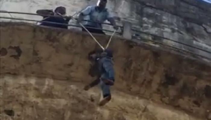 पुण्यात पाण्याच्या टाकीवर चढून युवकाची वीरुगिरी