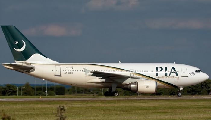 पाकिस्तान एअरलाईन्सचं विमान कोसळलं