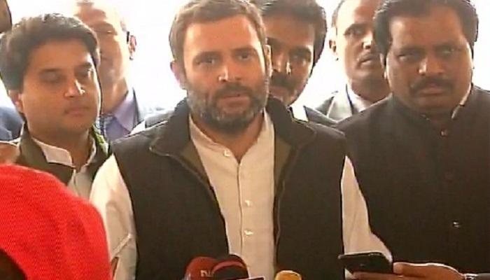 मी सभागृहात बोललो तर भूकंप येईल - राहुल गांधी