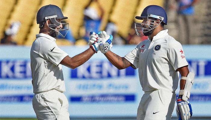 इंग्लंडच्या 400 रनना भारताचं चोख प्रत्युत्तर