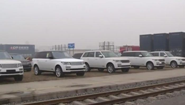 ८० लक्झरी कार घेऊ युरोपमधून चीनला पोहचली कार्गो ट्रेन - पाहा व्हिडिओ