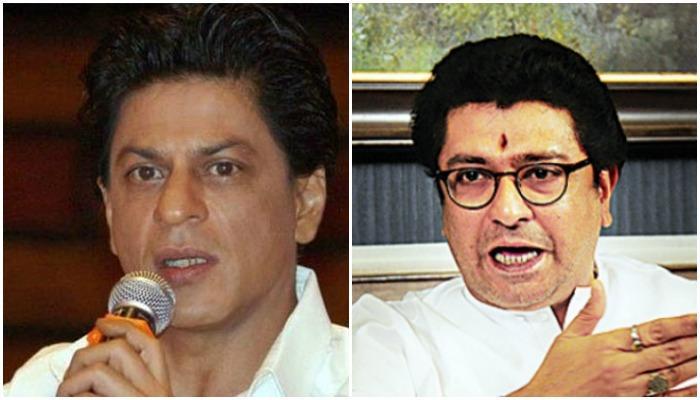 शाहरुख खान राज ठाकरेंच्या भेटीला