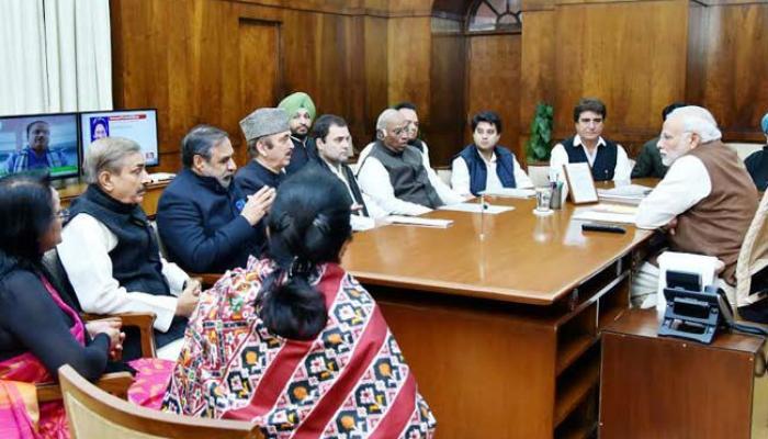 राहुल गांधींनी घेतली पंतप्रधानांची भेट