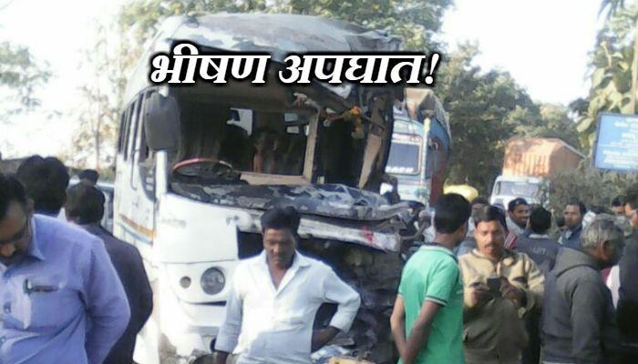 ट्रक - ट्रॅव्हल बसमध्ये अपघात, दोन ठार