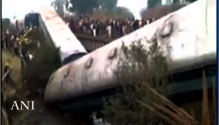 अजमेर - सियालदाह एक्स्प्रेसला अपघात २ ठार, ६३ जखमी