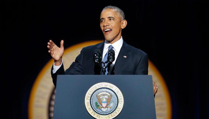 VIDEO : बराक ओबामांचं निरोपाचं भाषण