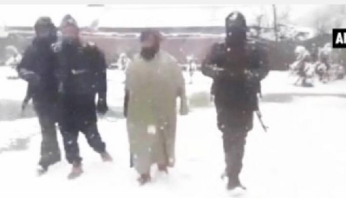 लष्कर ए तैयबाच्या दहशतवाद्याचा व्हिडिओ व्हायरल