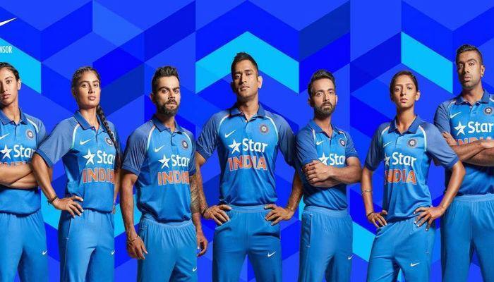 यंदाच्या सिझनमध्ये अशी असेल टीम इंडियाची जर्सी