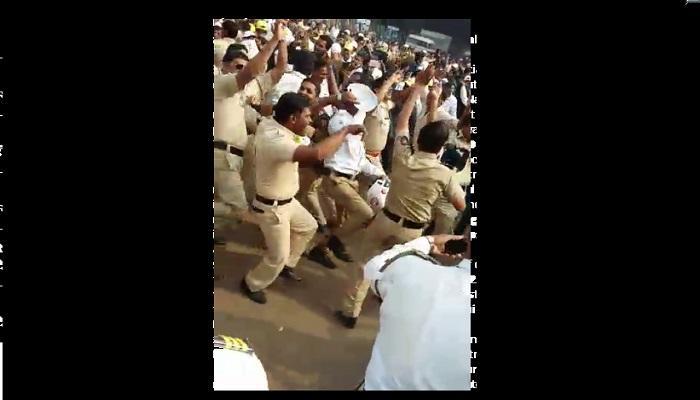 पोलिसांचा वर्दीतील झिंग झिंग झिंगाट डान्स...