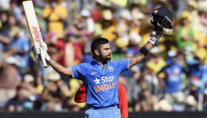 आयसीसी रँकिंगमध्ये विराट अव्वल तर टीम इंडिया दुसऱ्या स्थानी