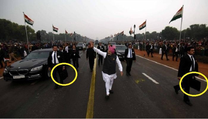 पंतप्रधानांच्या बॉडीगार्डच्या हातातल्या 'त्या' बँगमध्ये काय असतं?