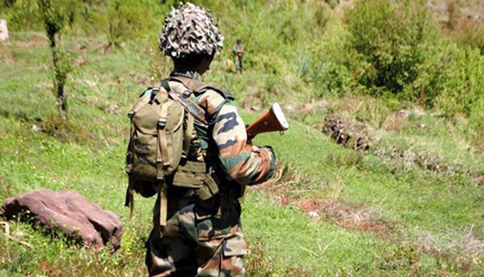 बांदीपोरा भागात दहशतवाद्यांशी चकमक, एक जवान शहीद