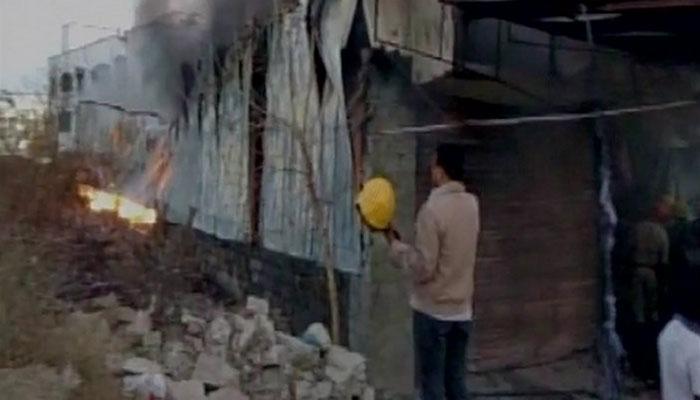 हैदराबाद येथे एअर कुलरच्या गोदाम आगीत सहा कामगारांचा मृत्यू