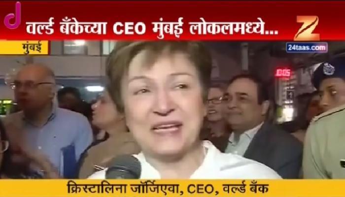 मुंबईच्या लोकलमधून सेकंड क्लास लेडिज डब्यातून प्रवास