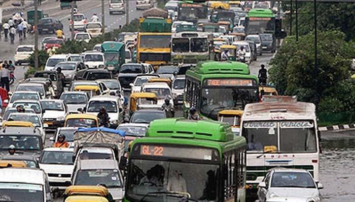 मुंबई-गोवा महामार्गावर वाहतूक कोंडी