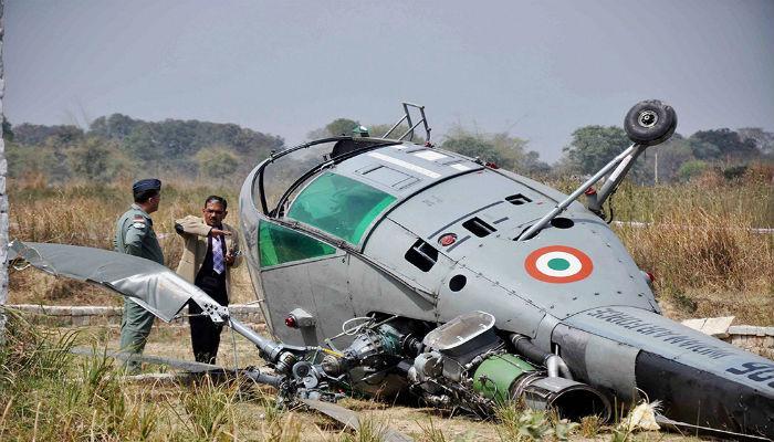 एकाच दिवशी भारतीय वायूदलाचे दोन अपघात