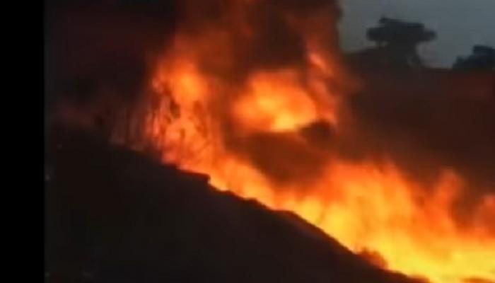 मुंबईत गॅस पाईपलाईनला भीषण आग, तीन कामगार जखमी