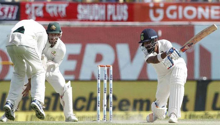 धर्मशालामध्ये टीम इंडियाची विजयी गुढी...