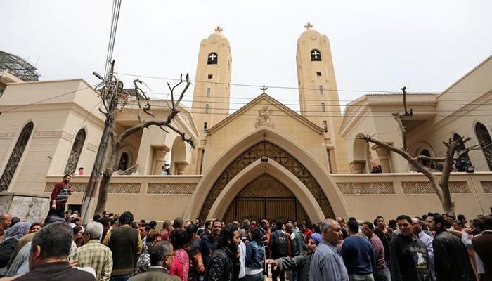 इजिप्तच्या दोन शहरात चर्चमध्ये स्फोट