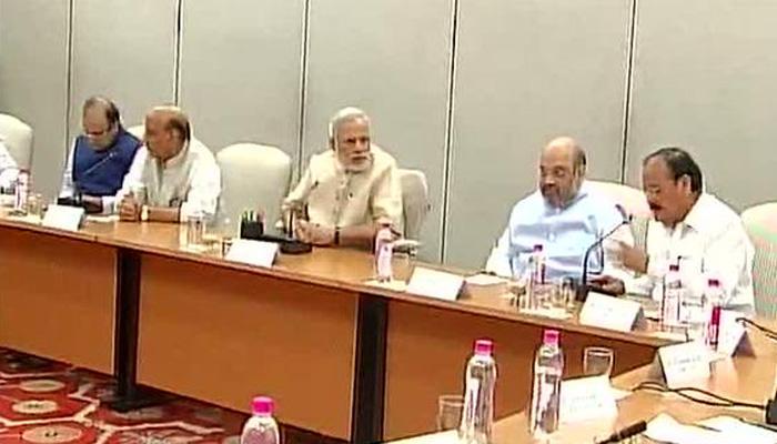 दिल्लीत एनडीएच्या घटकपक्षांची बैठक