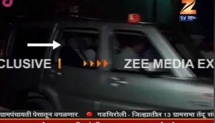 मुख्यमंत्री-राणे यांची भेट, एकाच गाडीतून प्रवास