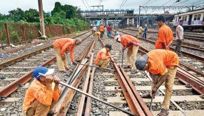 रेल्वेच्या चारही मार्गांवर रविवारी मेगाब्लॉक