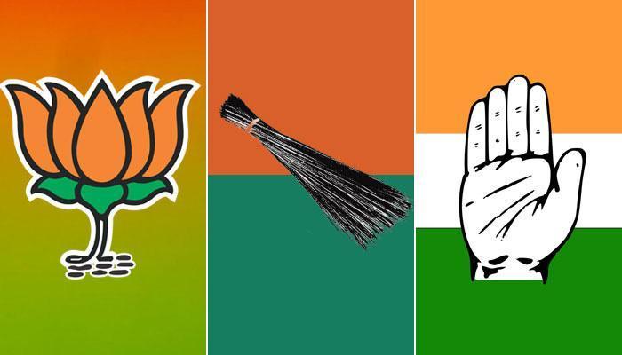 दिल्लीत पालिका निवडणुकीत  भाजपची बाजी; आप, काँग्रेसचा धुव्वा