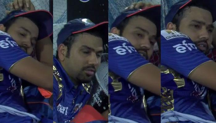 Video : आऊट झाल्यावर झोपी गेला होता मुंबईचा कर्णधार रोहित, पुण्याने असे जागे केले...