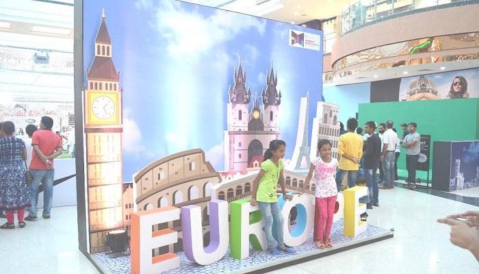 नवी मुंबईच्या एसीजी मॉलमध्ये करा ४ खंडांची सफर