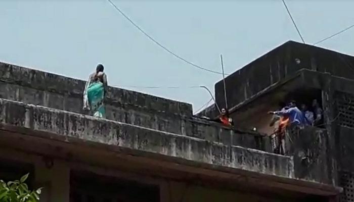 नवऱ्याला घाबरविण्यासाठी तिने केला आत्महत्येचा दिखावा