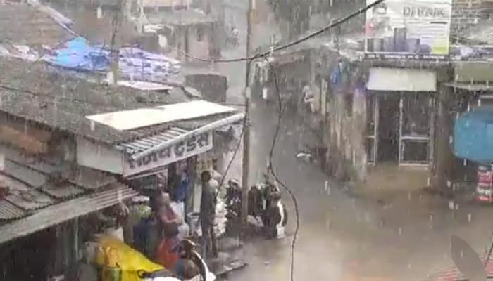 कोकणात मान्सूनपूर्व पाऊस