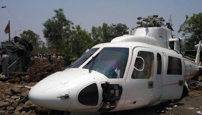 अपघात झालेल्या मुख्यमंत्र्यांच्या हेलिकॉप्टरमध्ये दोष