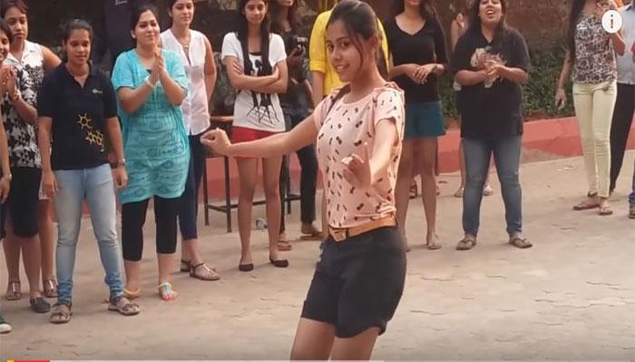 Video : या मुलीचा डान्स पाहून प्रभुदेवा पण करणार प्रशंसा