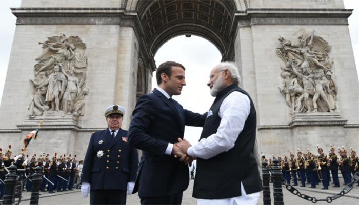 दहशतवादाविरोधातील लढाईमध्ये भारत-फ्रान्स एकत्र
