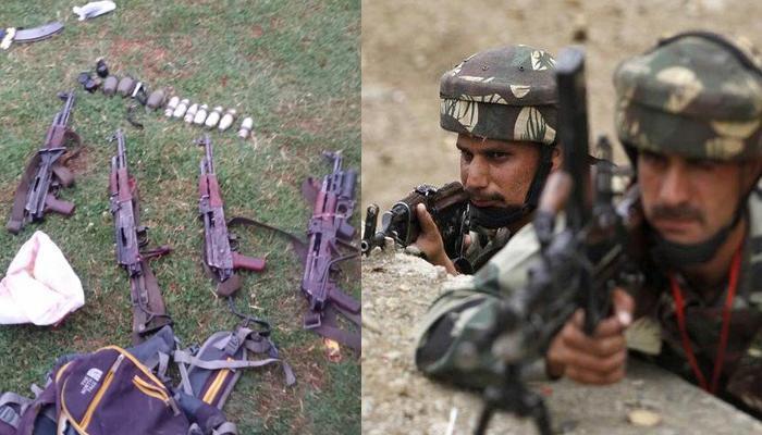 काश्मीरमध्ये दहशतवादी हल्ला,  ४ दहशतवाद्यांचा खात्मा