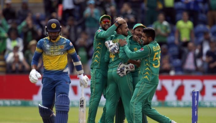 श्रीलंकेला हरवून पाकिस्तान चॅम्पियन्स ट्रॉफीच्या सेमीफायनलमध्ये
