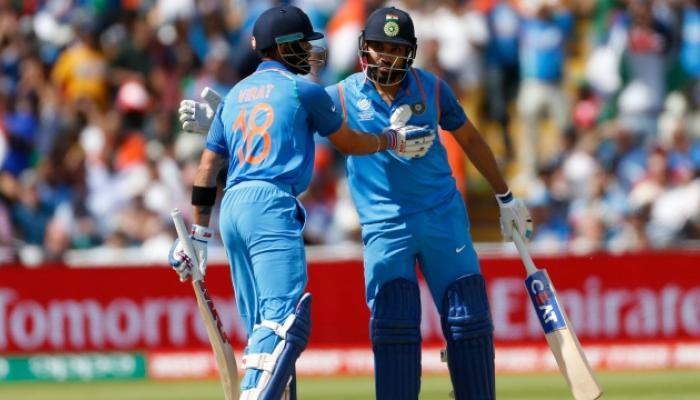 रोहितचं शतक, विराटचं अर्धशतक, भारत विजयाच्या उंबरठ्यावर