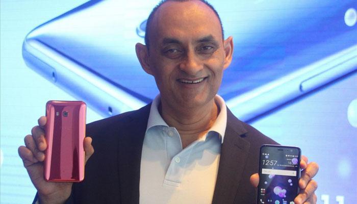 एचटीसीने भारतात लॉन्च केला 'यू११' स्मार्टफोन