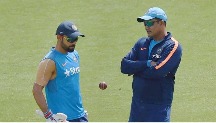 अनिल कुंबळेविना टीम इंडिया वेस्ट इंडिजला