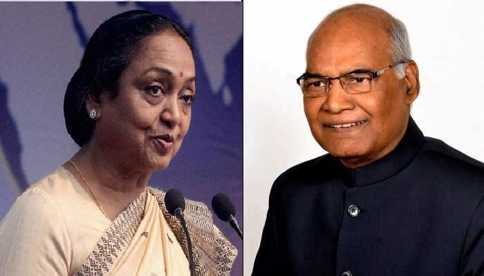 राष्ट्रपती निवडणूक: मीरा कुमार विरुद्ध रामनाथ कोविंद लढत