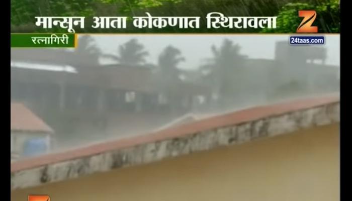 रत्नागिरीत मुसळधार पाऊस, समुद्र उधाणाने मोठे नुकसान